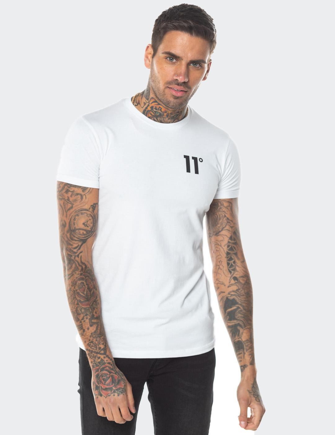 Camiseta Eleven Degree CORE MUSCLE FIT - White