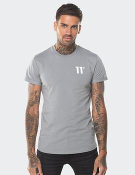 Camiseta Eleven Degree CORE MUSCLE FIT T SILVER