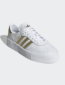 Zapatillas Adidas W SAMBAROSE - White Gold