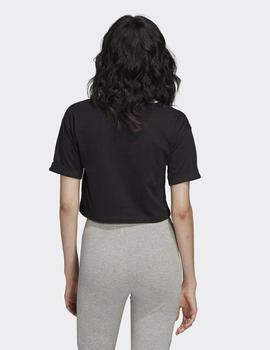Camiseta Adidas CROP TOP - Negro
