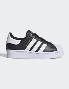 Zapatillas Adidas  SUPERSTAR BOLD W - Negro