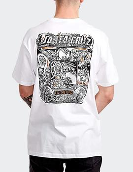 Camiseta Santa Cruz Multimedia Witchcraft - Blanco