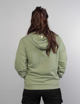 Sudadera Capucha TAVORA - sea spray/bright white