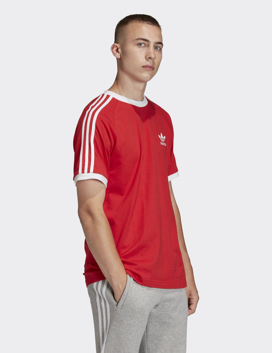 Camiseta Adidas 3-STRIPES - Rojo