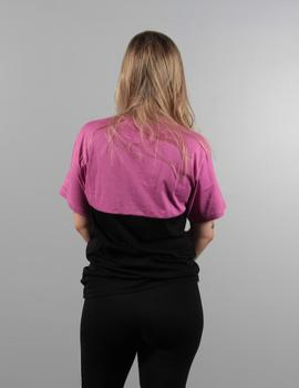 Camiseta Vans COLORBLOCK - ROSEBUD BLACK