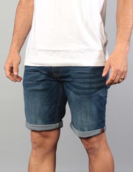 Bermuda 9709 CLEAN - Denim Dark Blue