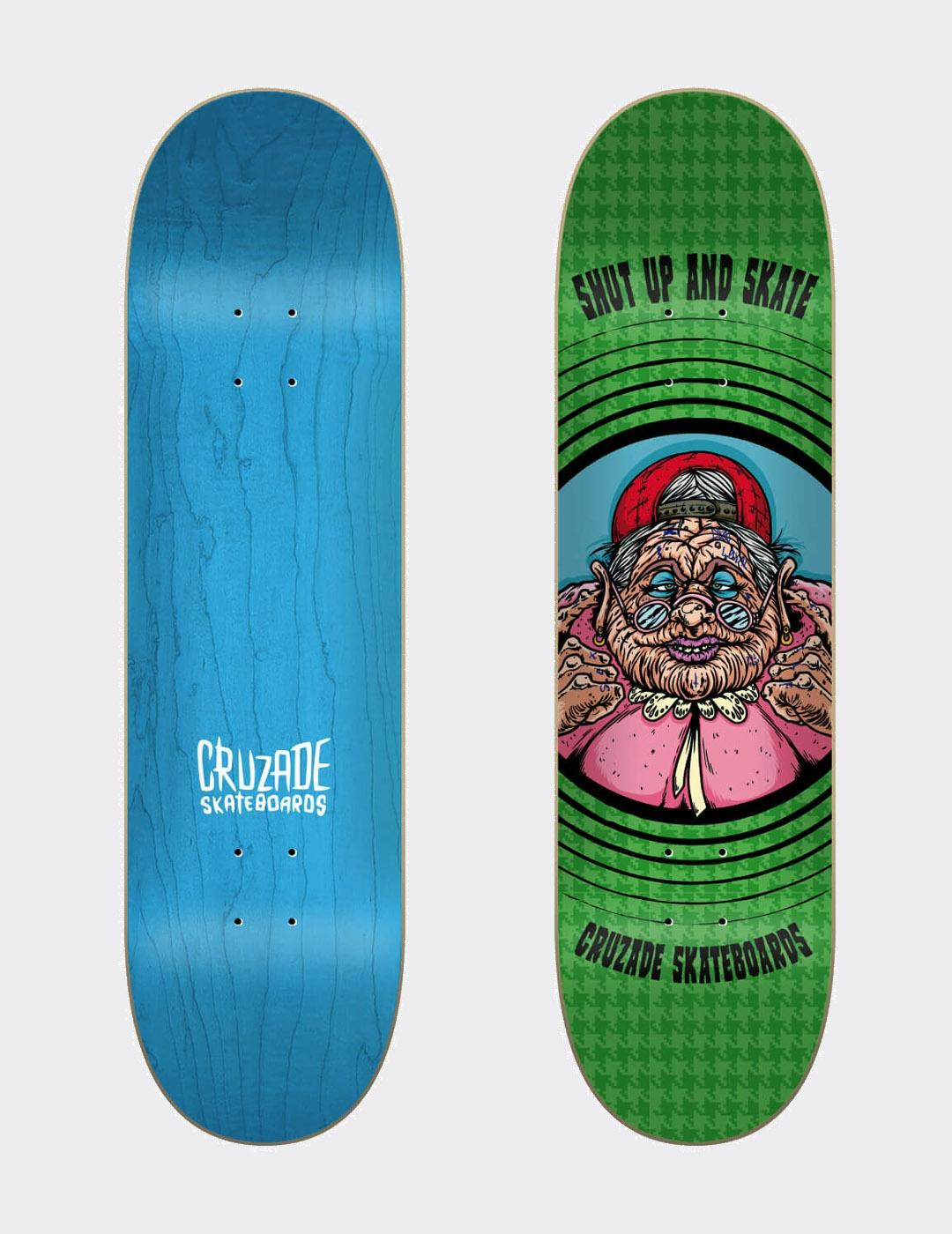 Tabla Skate Cruzade Shut Up And Skate 8.5' x 32.12