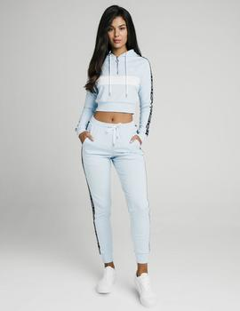 Pantalón Siksilk  SKY TAPE TRACK - Light Blue