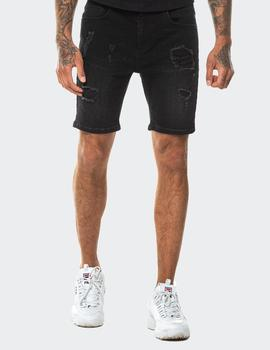 Bermuda RIP AND REPAIR DNM KINNY FIT - Washed Blk