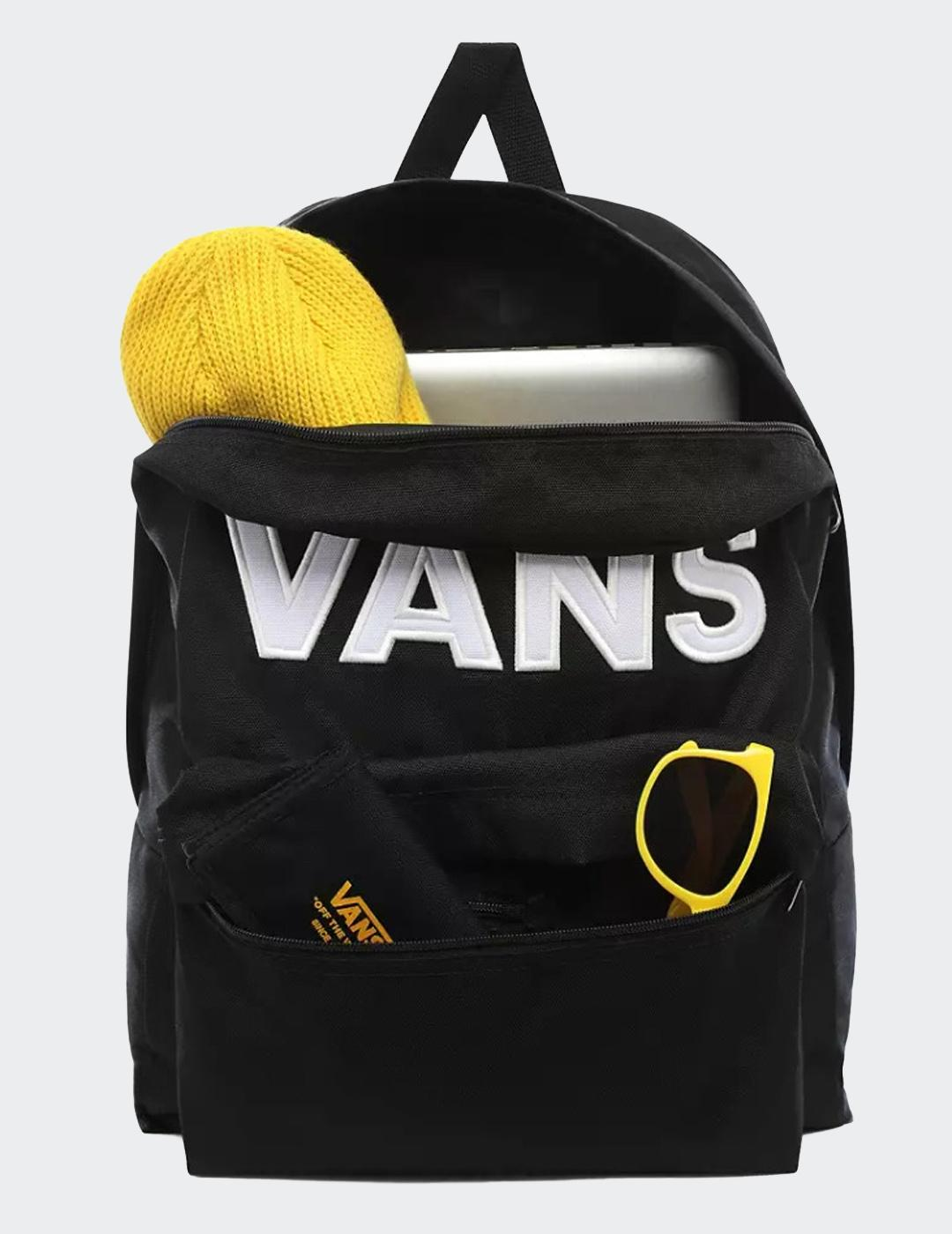 Mochila Vans OLD SKOOL III - Black/White