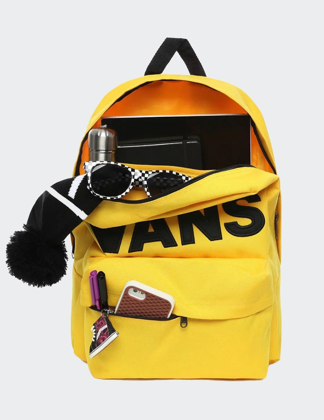 Mochila Vans OLD SKOOL III - Lemon Chrome