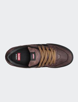 Zapatillas Globe  ENCORE-2 - Brown Mock/Black