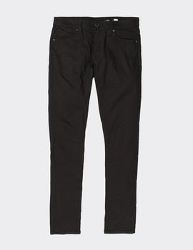 Pantalón Volcom 2X4 TAPERED - Black On Black