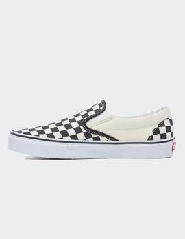 Zapatillas Vans CLASSIC SLIP-ON - Negro/Blanco cuadros