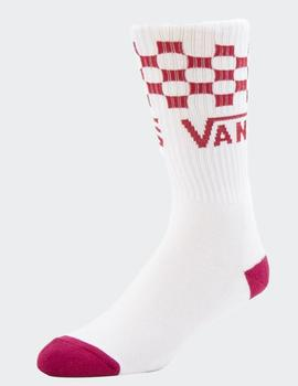 Calcetines CHECKER VANS CREW - CHILI PEPPER