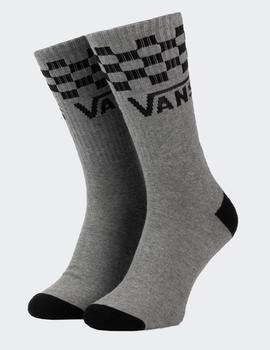 Calcetines CHECKER VANS CREW - HEATHER GREY