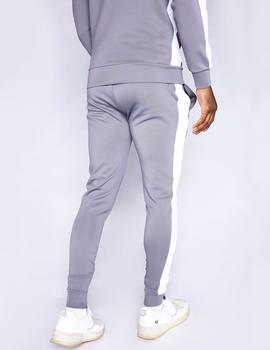 Pantalón Chándal Eleven Degree POLY PANEL - Steel - White