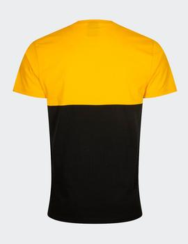 Camiseta LARGE OTL LA LAKERS - Amarillo/Negro