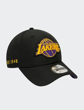 Gorra 940 HOOK LA LAKERS - Negro
