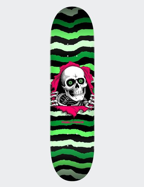 Tabla Skate Powell Peralta  RIPPER 8.75' x 32.95' - Verde
