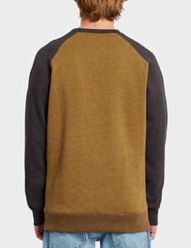 Sudadera Volcom Crew HOMAK - Golden Brown