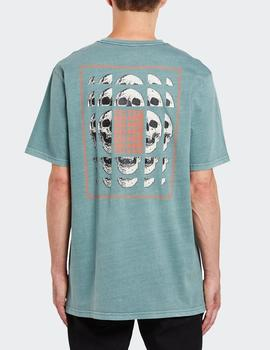Camiseta Volcom CONCUSSION - Fir Green