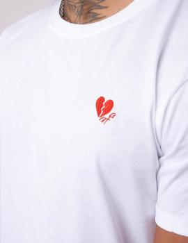 Camiseta Project X Paris 2010101 HEART - Blanco