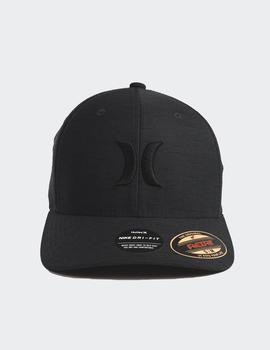 Gorra Hurley DF MARWICK ICON - Black Heather