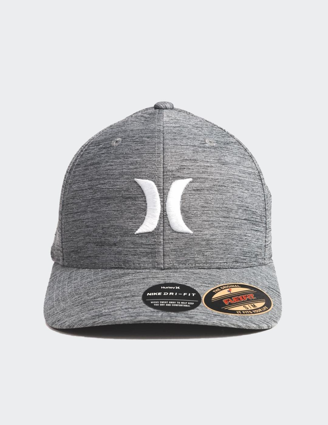 Gorra Hurley DF MARWICK ICON - Dark Smoke Grey