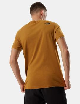 Camiseta The north face FINE - Timber Tan