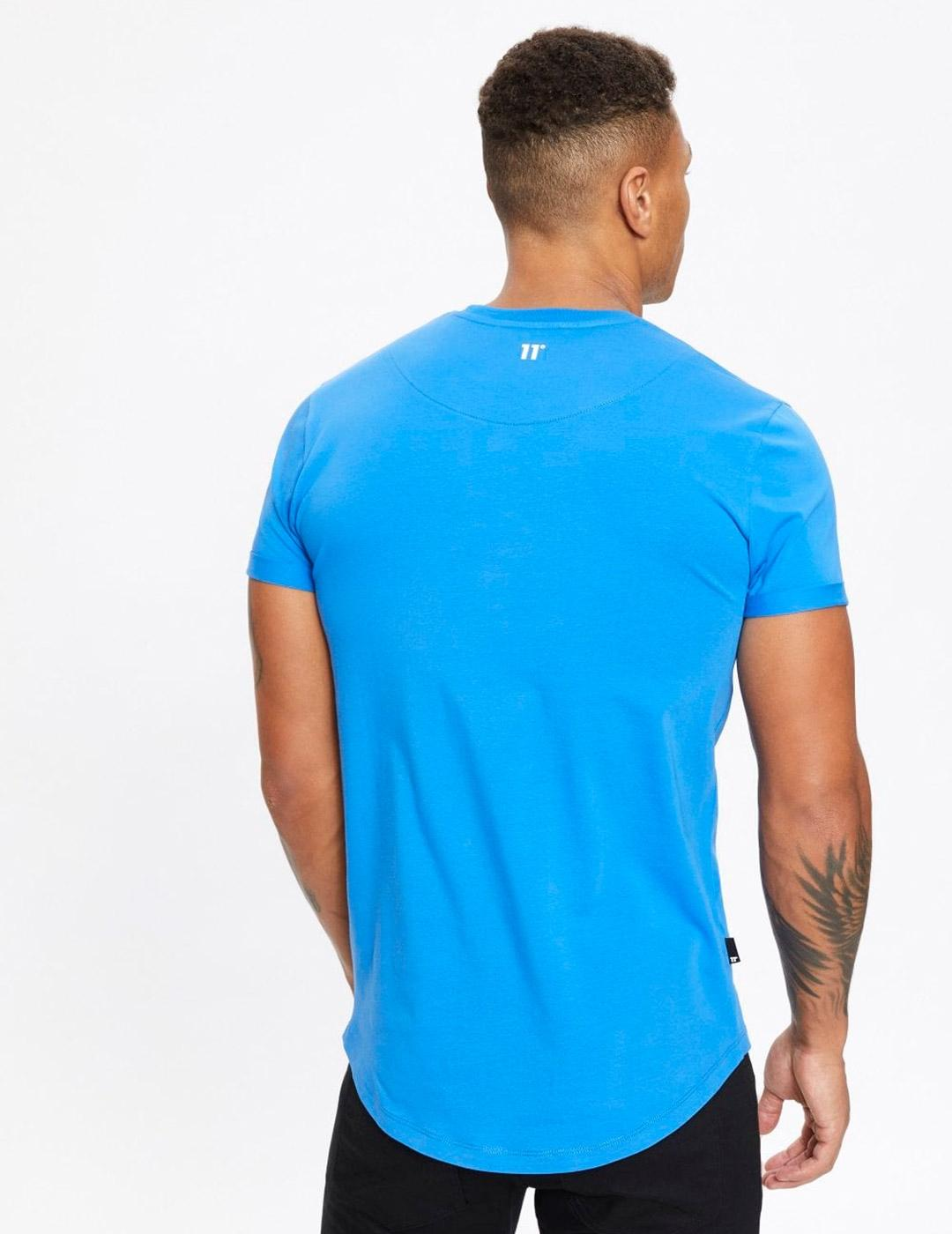Camiseta Eleven CORE MUSCLE FIT - Cornflower Blue