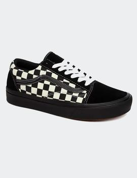 Zapatillas Vans OLD SKOOL CONFYCUSH - Negro/Blanco/Cuad