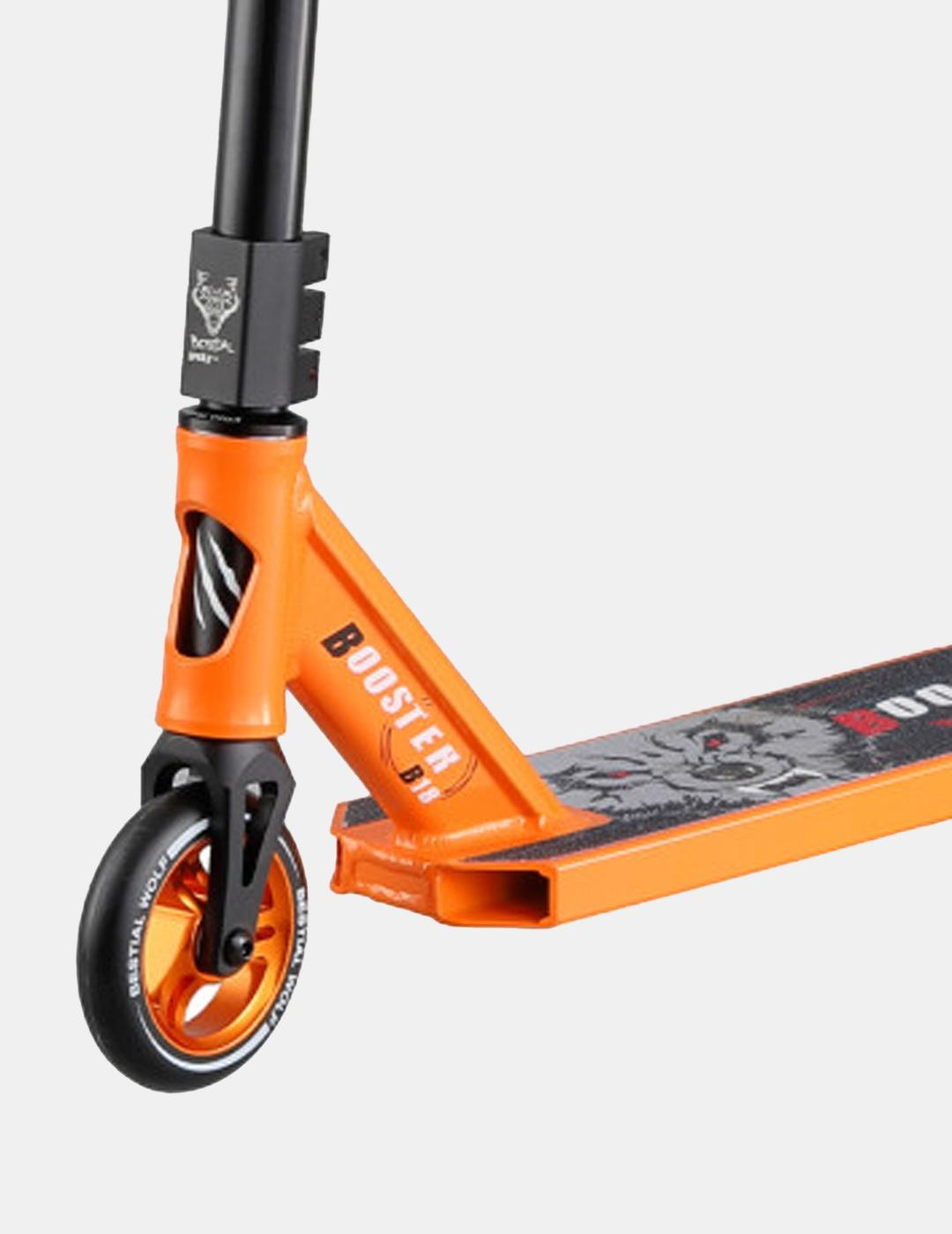 Scooter BESTIAL WOLF BOOSTER B18 - Naranja