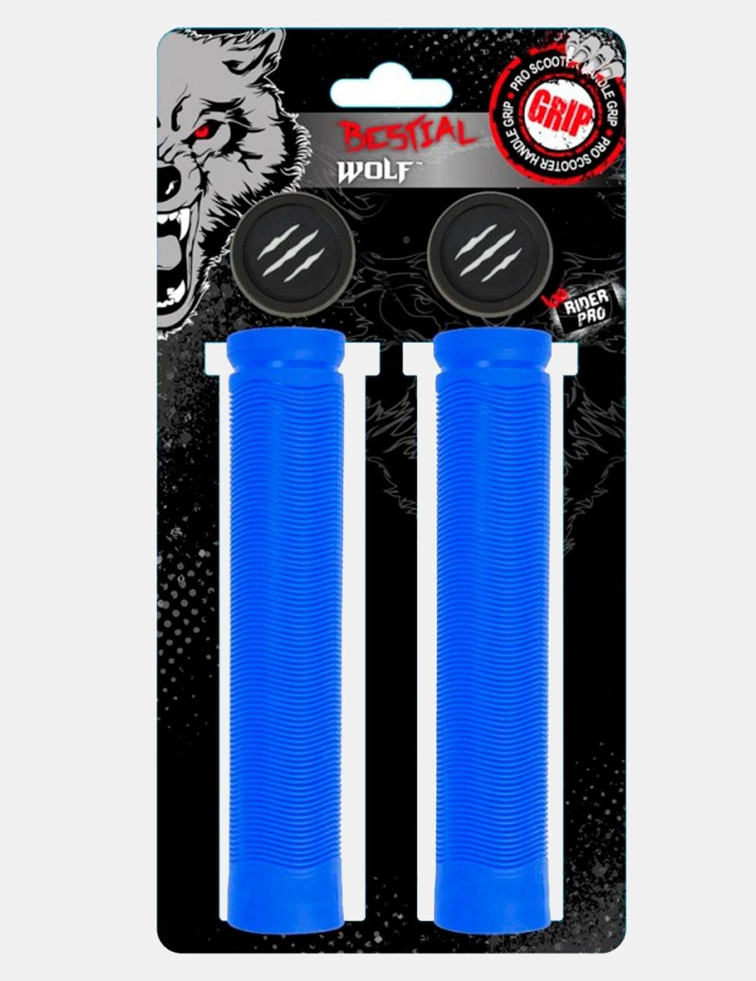 Manguitos Scooter BESTIAL WOLF RS81 155MM - Azul