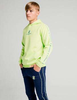 Sudadera ILLUSIVE LONDON LOGO - Lime