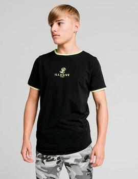 Camiseta ILLUSIVE LONDON LOGO - Black