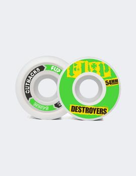 Ruedas CUTBACK DESTROYERS 54mm 99a Green (4 ruedas)