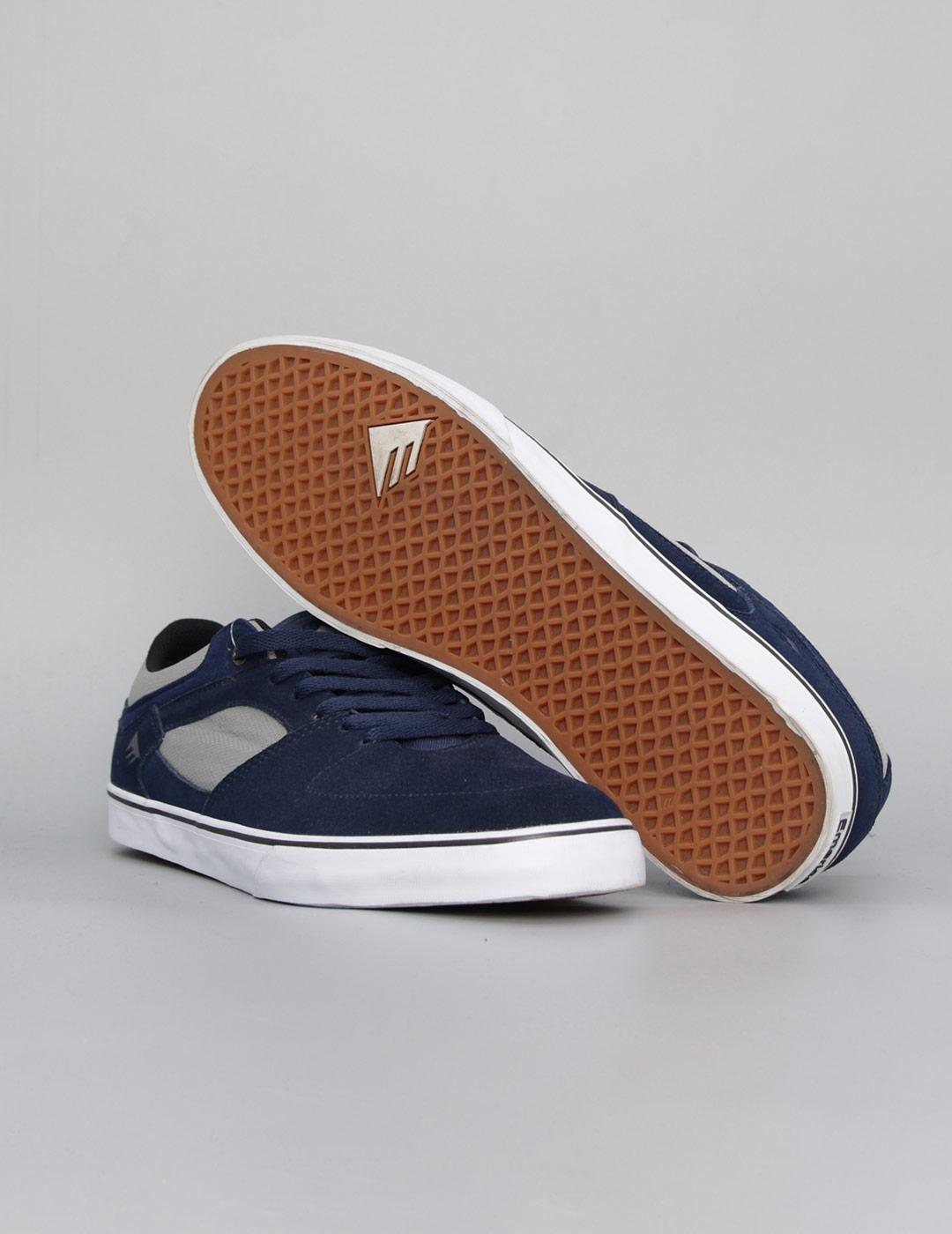 Zapatillas Emerica THE HSU LOW VULC - Navy Grey