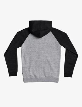Sudadera Quiksilver (JUNIOR) EASY DAY Z SCREEN - Gris/Marino
