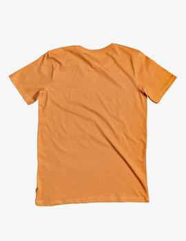 Camiseta Quiksilver (JUNIOR) LIKE WATER - Apricot