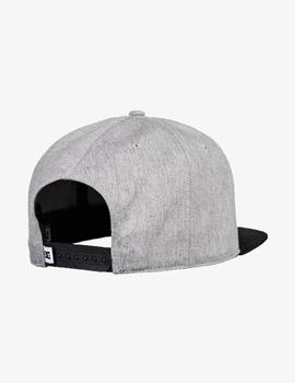Gorra DC BRACKERS - Grey Heather