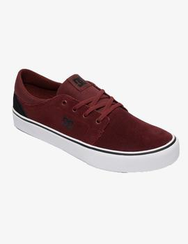 Zapatillas DC TRASE SD - Dark red/Black