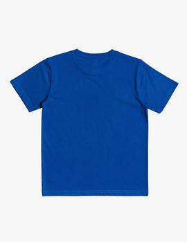 Camiseta DC Shoes (JUNIOR) STAR  - Azul/Blanco