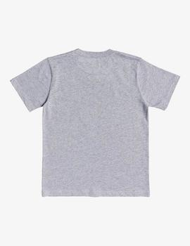 Camiseta DC Shoes (JUNIOR) CIRCLE STAR - Gris vigoré