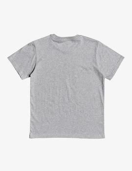 Camiseta DC Shoe (JUNIOR) SQUARE - Gris Vigoré