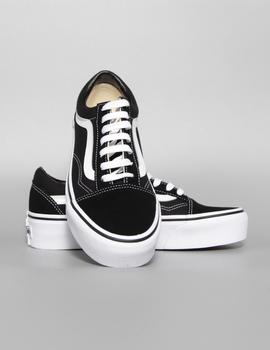 Zapatillas Old Skool Platform - Black/White