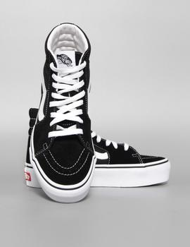 Zapatillas SK8-Hi Platform 2.0 - Black/True White