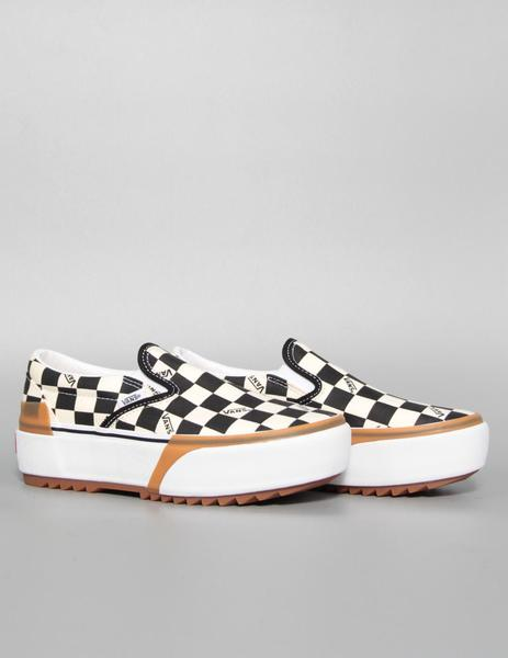 Zapatillas Classic Slip-On Stacked - Multi/True Wh