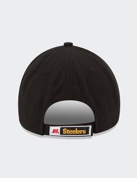 Gorra New Era THE LEAGUE PITTSBURGH STEELERS - Negro