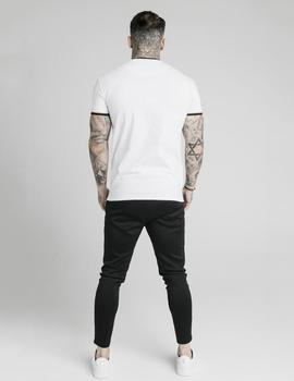 Camiseta SikSilk DELUXE STRAIGHT - White